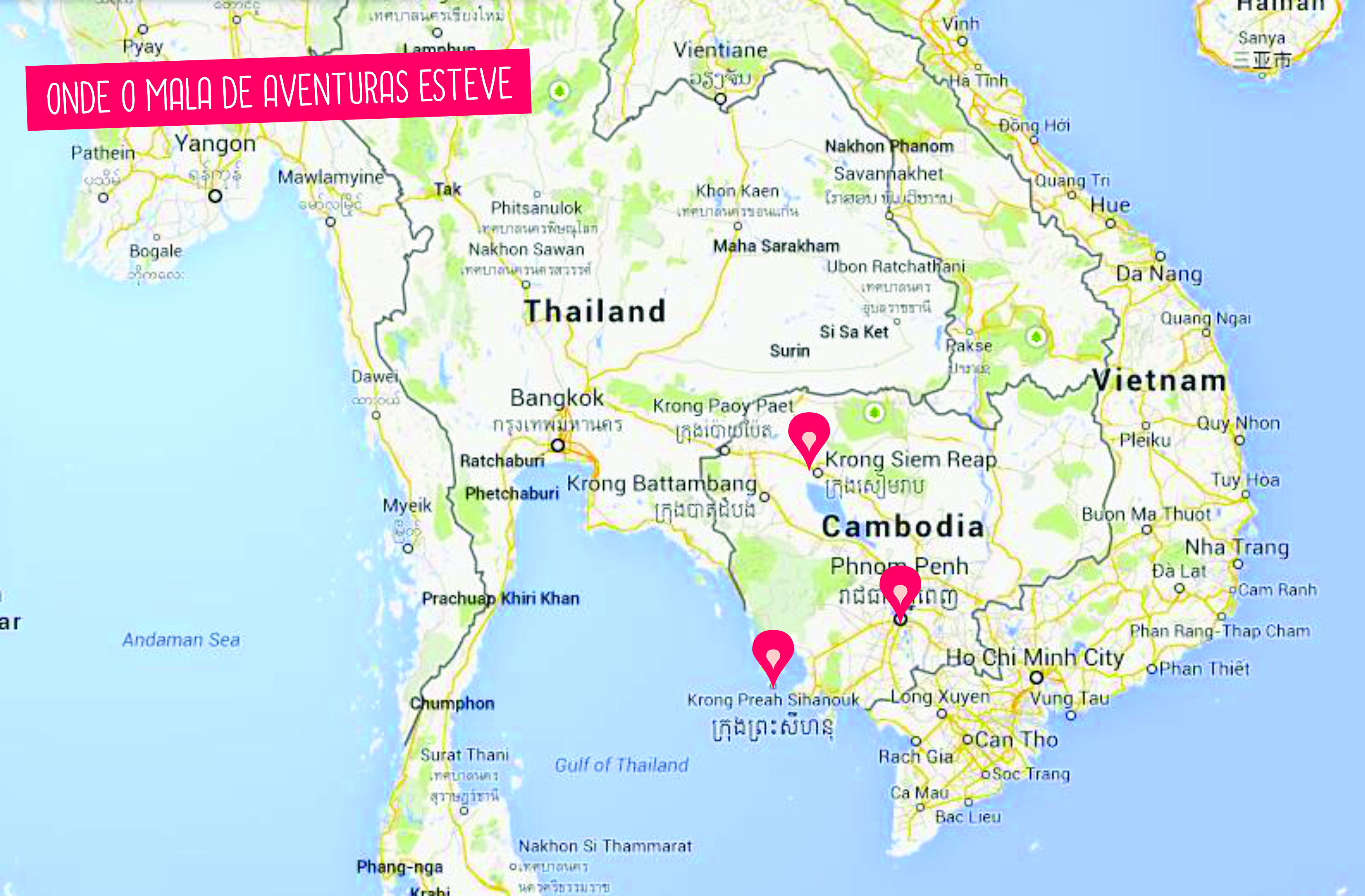 mapa cambodia